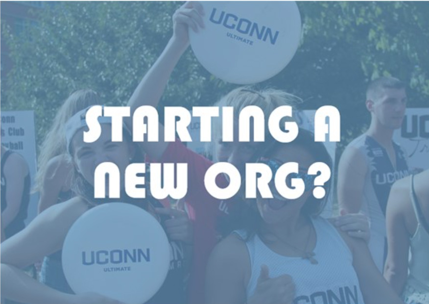 Starting a new org?